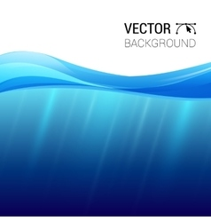 Water wave transparent surface vector
