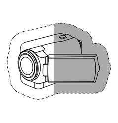 contour camcorder icon image vector image