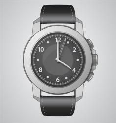 analog watch vector image