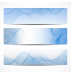 Abstract curved lines on bright background vector