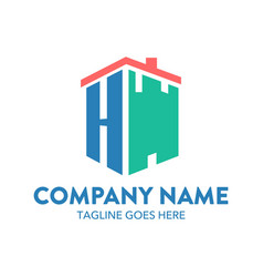 Building logo-5 vector
