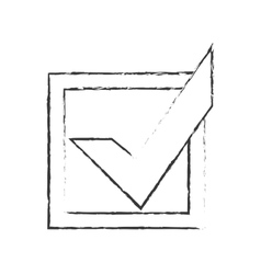 Check mark accept icon image vector