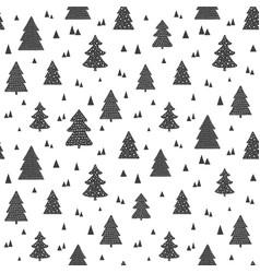 Christmas scandinavian seamless pattern vector