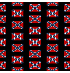 confederate states america seamless pattern vector image