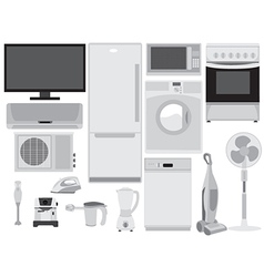 House Appliances vector