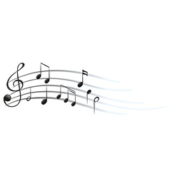 Musical notes and symbols vector