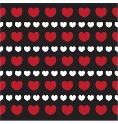 Romantic texture with hearts Valentine day vector