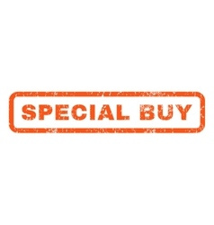 Special Buy Rubber Stamp vector