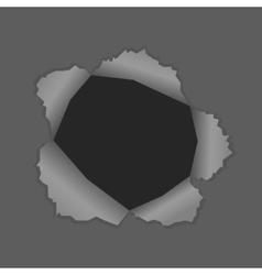 With a black hole vector