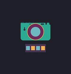 Camera computer symbol vector image