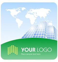 corporate logo vector image vector image