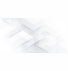 Abstract white monochrome background vector