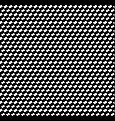 Black abstract slanting rectangles pattern vector