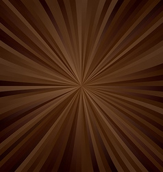 Brown ray pattern design vector