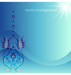 Decorative cover template thirty nine vector