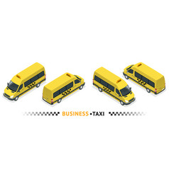 Isometric high quality city service transport icon vector