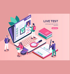 Test for diploma student class vector