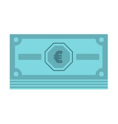 cash money icon flat style vector image
