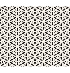 Seamless Black and White Geometric vector image vector image