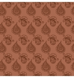 seamless pattern of indian cucumbers vector image vector image