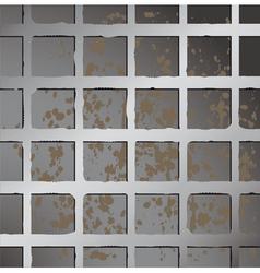 metal texture seamless vector image vector image