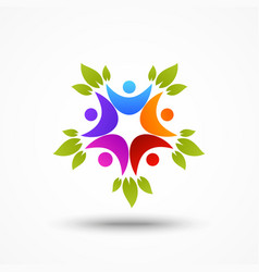abstract business icon and symbol vector image