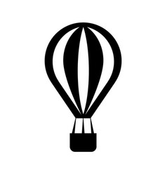 balloon air hot icon vector image