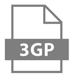 File name extension 3gp type vector