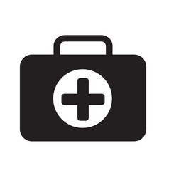 first aid box icon design vector image