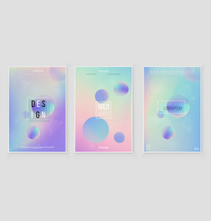 Holographic paper magic foil marble vector