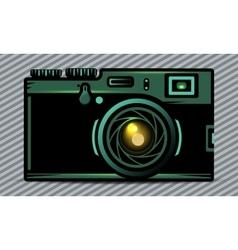 Luxury photo camera vector