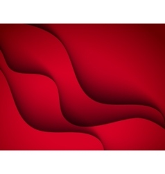 red template abstract background vector image