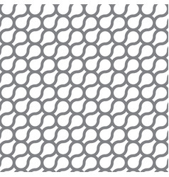circle curve seamless pattern background vector image vector image