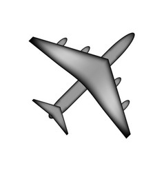 Airplane icon sign vector