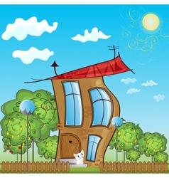 Fabulous house vector