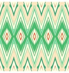 Modern geometric pattern ikat vector