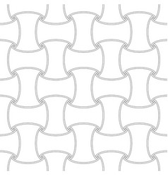 seamless outline first element pattern background vector image