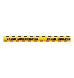 Tape dont cross precaution vector