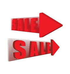 sale pointers vector image