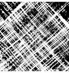 Distress Checker Texture Diagonale vector image