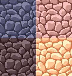 Stone pattern vector