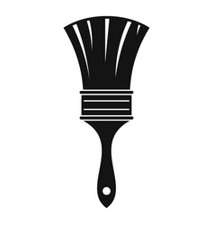 brush icon simple style vector image