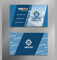 business cards templates business card design vector image