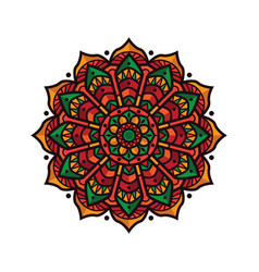 design mandala vintage decorative vector image