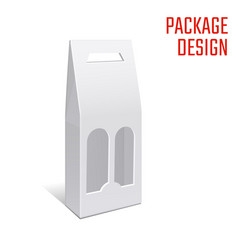 Gift craft box 1 vector