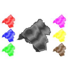 Isparta map vector