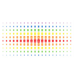 Recycle bin spectral halftone matrix vector