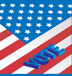 register to vote vector image