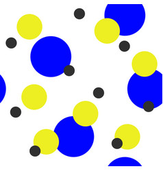 Seamless abstract pattern with colorful circles vector