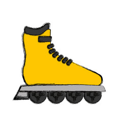 Sport skates isolated vector